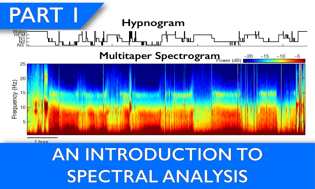Multitaper Spectrogram Tutorial Part 1
